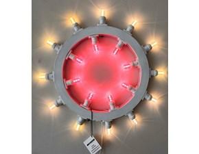 Lampada da parete Abc Mod sole grande Bianco a prezzi outlet