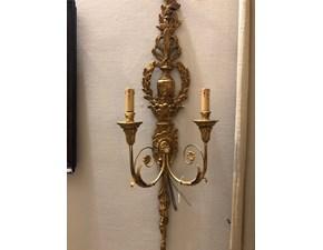 Lampada da parete Artigianale Applique paoletti stile Classica con forte sconto