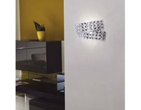 Lampada da parete Artigianale Diamante ap2 Trasparente a prezzi convenienti