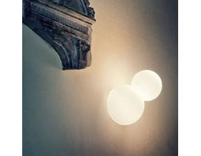 Lampada da parete Fontana arte Bruco Satinato in offerta