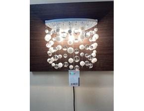 Lampada da parete Ideal lux Neve ap3 stile Moderno con forte sconto