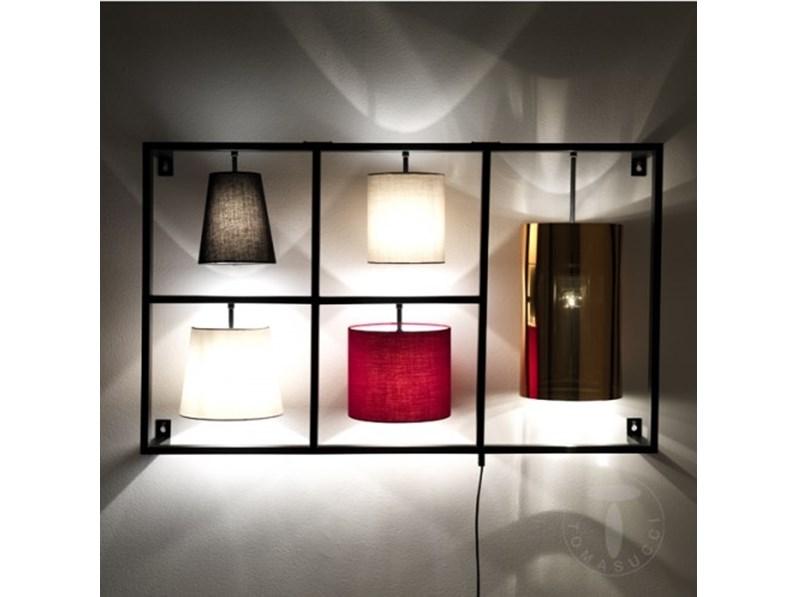 purchase cheap 42c3e 4457e Lampada da parete in metallo Jumble di Tomasucci a prezzo Outlet