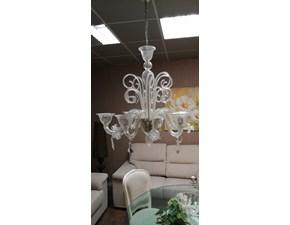 Lampada da parete in vetro Lampadario in vetro Arcom a prezzo scontato