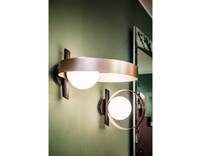 Lampada da parete Lampada applique bubble a Riflessi con un ribasso esclusivo