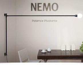 Lampada da parete Potence pivotante Nemo a prezzo Outlet