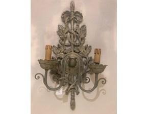 Lampada da parete stile Classica Chelini applique Chelini a prezzi outlet