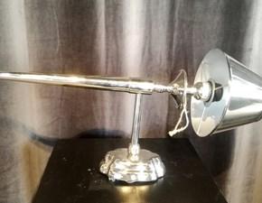 Lampada da parete stile Design Applique cromata Artigianale in offerta outlet
