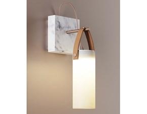 Lampada da parete stile Design Galerie Fontana arte con forte sconto
