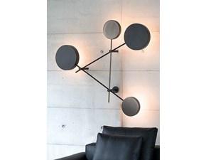 Lampada da parete stile Design Iride Arketipo in saldo