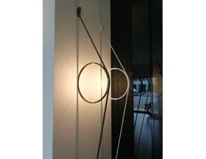 Lampada da parete Wirering Flos con uno sconto esclusivo