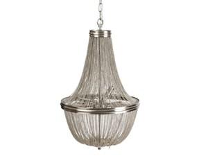 Lampada da soffitto Argento metallo Ixia con un ribasso esclusivo