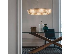 Lampada da soffitto Cattelan italia Cellini Bianco a prezzi outlet