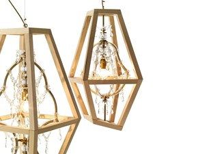 Lampada da soffitto Crystal  Mogg in Offerta Outlet