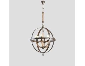 Lampada da soffitto Dialma brown con SCONTO IMPERDIBILE