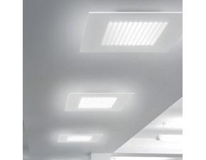 Lampada da soffitto Dublight Linea light a prezzo Outlet