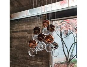 Lampada da soffitto in metallo Apollo Cattelan italia a prezzo Outlet