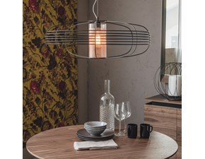 Lampada da soffitto in metallo Galaxy Cattelan italia in Offerta Outlet