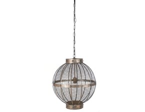 Lampada da soffitto in metallo Lampadario Blanc mariclò a prezzo Outlet
