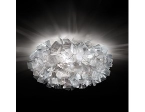 Lampada da soffitto in plastica Slamp clizia wall  ceiling Slamp in Offerta Outlet