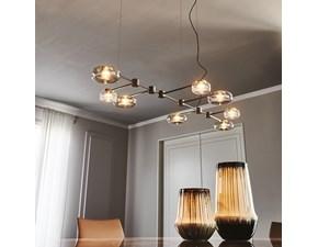 Lampada da soffitto in vetro Circuit Cattelan italia a prezzo Outlet