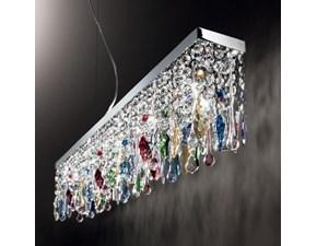 Lampada da soffitto in vetro Giada *  Ideal lux a prezzo Outlet