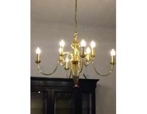 Lampada da soffitto in vetro Sole Artigianale a prezzo Outlet
