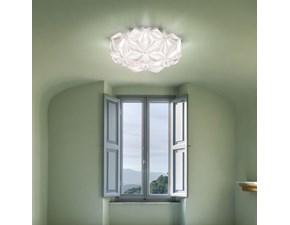 Lampada da soffitto Slamp La vie Bianco con forte sconto