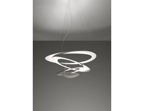 Lampada da soffitto stile Design Pirce mini sospensione led bianco Artemide in saldo