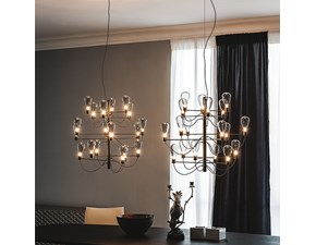 Lampada da soffitto stile Design Poseidon Cattelan italia in offerta