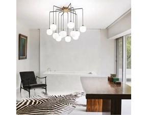 Lampada da soffitto stile Design Rhapsody 12 x 28w Ideal lux in offerta outlet