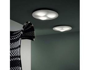 Lampada da soffitto stile Moderno Circle wave s Linea light a prezzi convenienti
