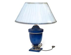 Lampada da tavolo Artigianale Blu stile Classica con forte sconto