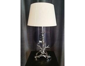 Lampada da tavolo Artigianale Lampada cromata Argento a prezzi outlet