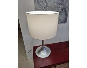Lampada da tavolo Artigianale Lampada in tessuto  Bianco a prezzi convenienti