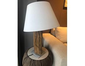 Lampada da tavolo Artigianale Tronco  Altri colori a prezzi outlet