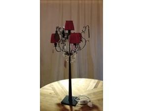 Lampada da tavolo Baga illuminazione 010 Rossa in offerta