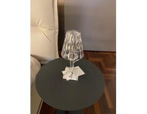 Lampada da tavolo Battery 9140 cristallo Kartell in Offerta Outlet