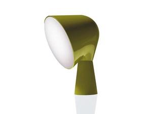 Lampada da tavolo Binic verde Foscarini con uno sconto esclusivo