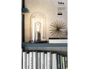 Lampada da tavolo Febal Teka stile Design in offerta