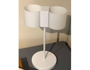 Lampada da tavolo Fontana arte Duet Bianco in offerta