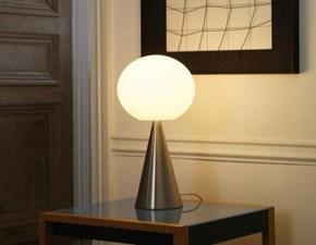 Lampada da tavolo Fontana arte Fontana arte bilia nichel Satinato con forte sconto