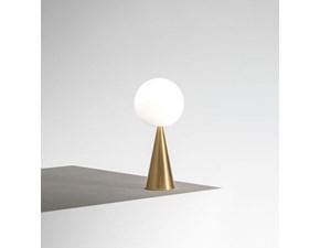 Lampada da tavolo Fontana arte Fontana arte bilia ottone stile Design a prezzi outlet