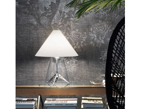 Lampada da tavolo Fontana arte Metafora Bianco con forte sconto