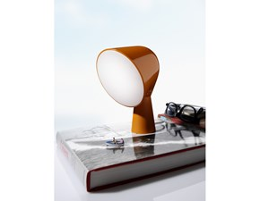 Lampada da tavolo Foscarini Binic arancio stile Moderno in offerta