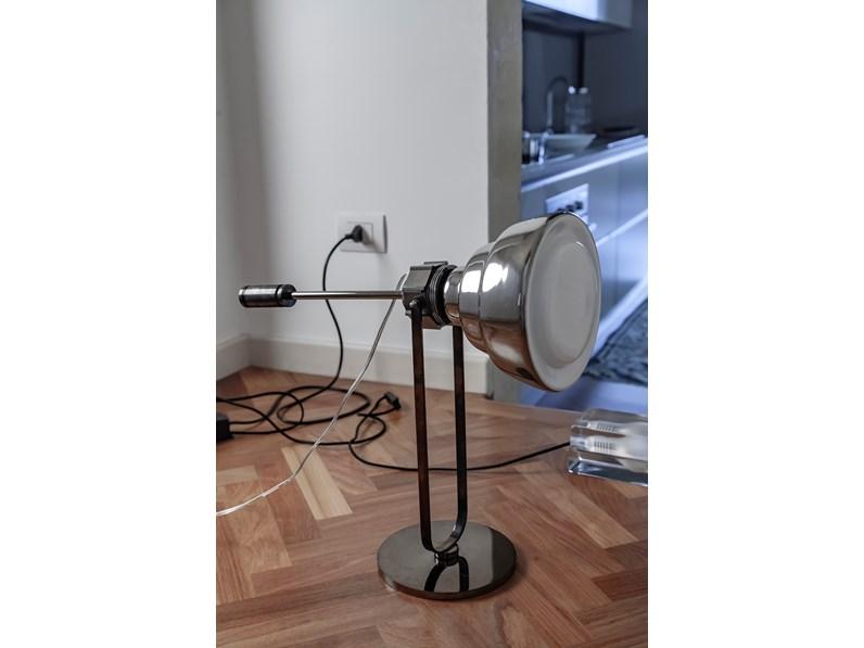 Lampada Da Tavolo Foscarini Glas Tavolo Cromo Stile Design A Prezzi Outlet