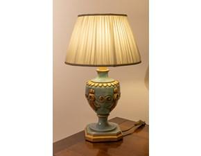 Lampada da tavolo Grifoni vittorio Lampada silvano grifoni turchese/oro stile Classica con forte sconto