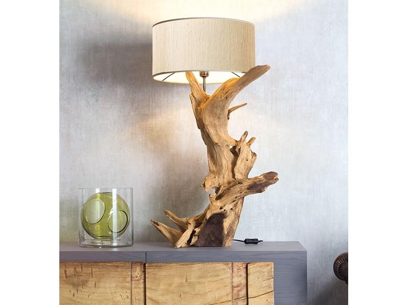 Lampada da tavolo in altro peak nature design a prezzo outlet for Tavolo design outlet