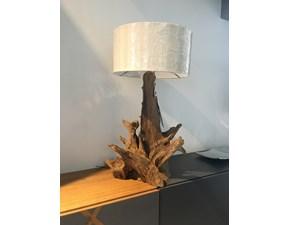 Lampada da tavolo in altro Peak Nature design a prezzo Outlet
