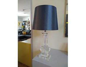 Lampada da tavolo in cristallo Yvette Artigianale in Offerta Outlet