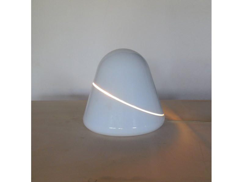 Lampada da tavolo in metallo Candle fontana arte lampada da tavolo  tikal,art 5450 design vico magistretti Fontana arte a prezzo Outlet